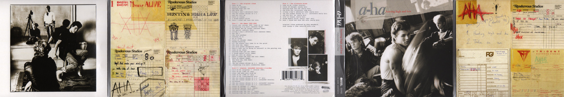 Hunting High and Low Expanded Edition (front sleeve)