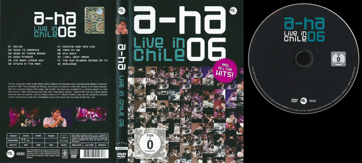 a-ha live in Chile 06 DVD