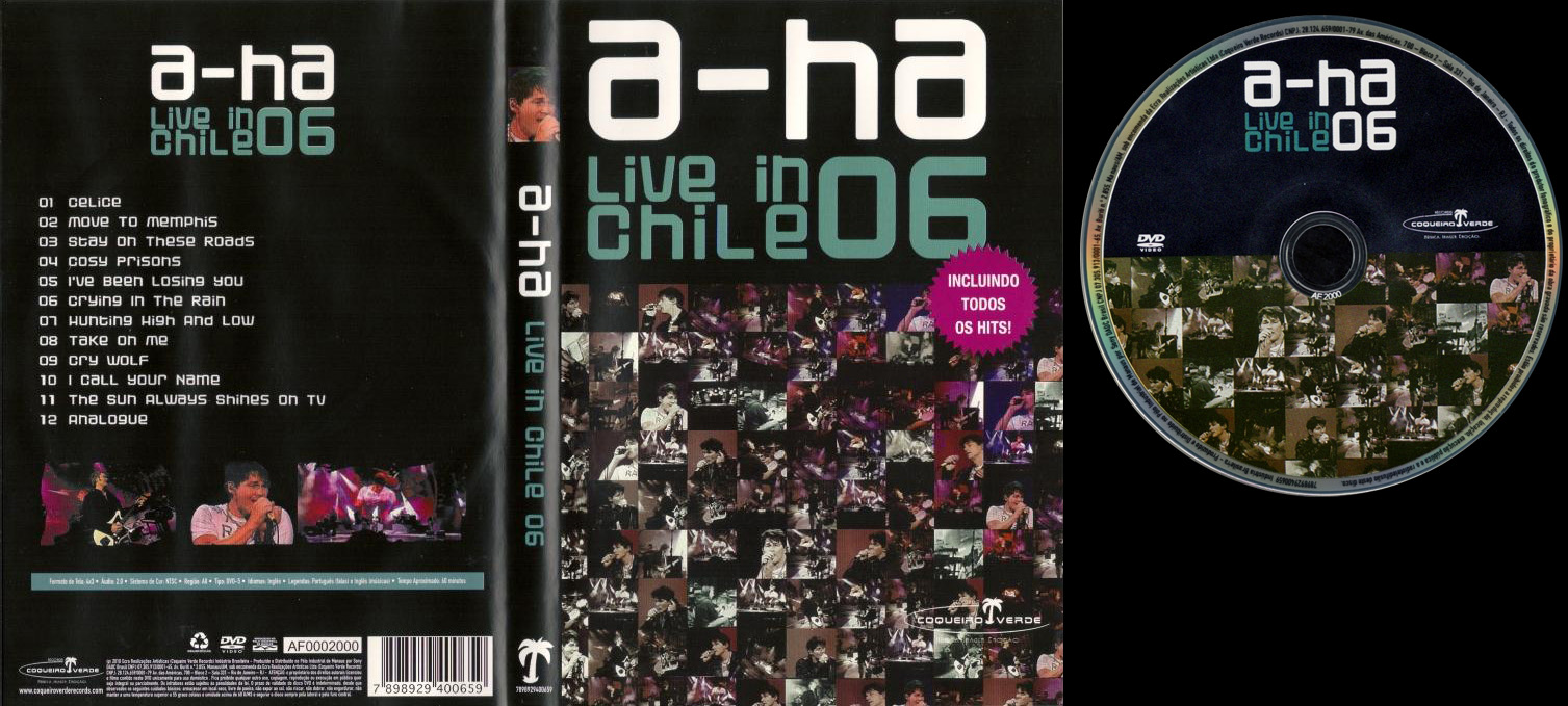 a-ha live in Chile 06 DVD - Brazil