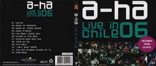 a-ha line in Chile 06 CD