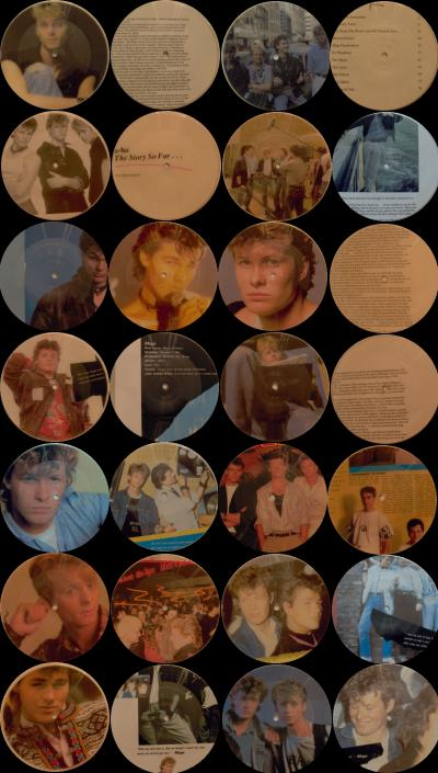 Amnesty picture discs - series 1