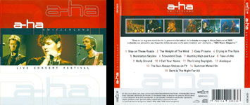 a-ha Switzerland Live Concert Festival, 2005 CD